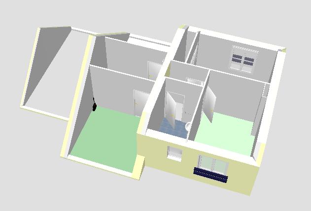 une maison sur 2 tages modle sweet home 3d - Sweet Home 3d Maison A Etage