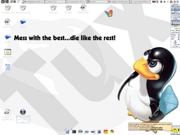 Capture de KDE 3.4