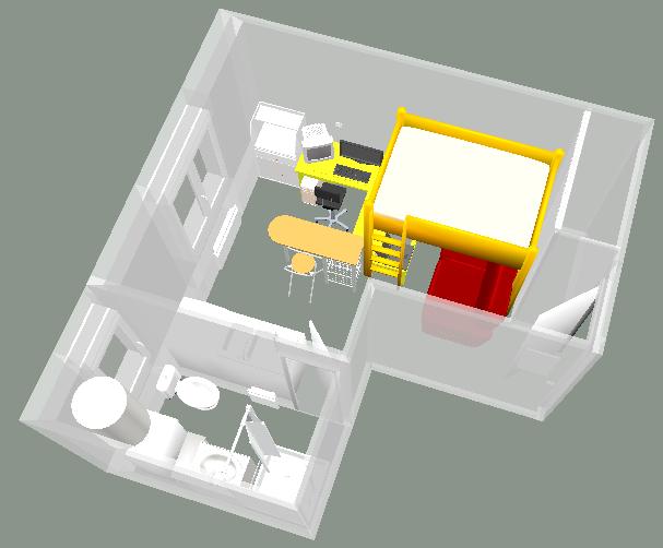 encore un meuble pour sweet home 3d infernal quack. Black Bedroom Furniture Sets. Home Design Ideas